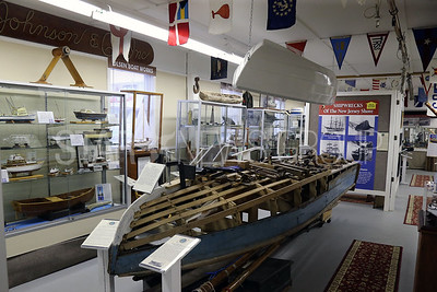 The  New Jersey Museum of Boating located at 1800 Bay Ave, Point Pleasant Beach is photographed on Monday April 16,2018. Crafting boats are a big part of the museum's gallery.  (MARK R. SULLIVAN /THE OCEAN STAR)