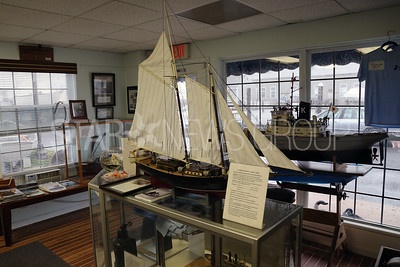 The  New Jersey Museum of Boating located at 1800 Bay Ave, Point Pleasant Beach is photographed on Monday April 16,2018. Model boats greet visitors when they first enter the museum. (MARK R. SULLIVAN /THE OCEAN STAR)