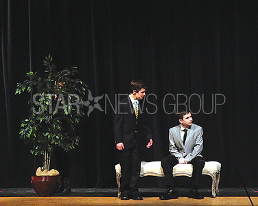 BORO sound of music 04/01/2017 from L to R: Jack Muraglia Playing Max Detweiler, Sean Haugh playing Captain Georg von Trapp