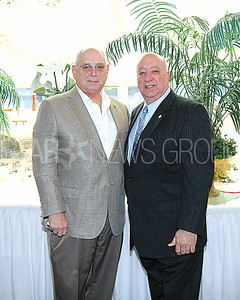 Point Beach UNICO fundraiser 04/01/2017 from L to R: Bob Gynn (President of the Point Pleasant Beach Division of UNICO), Dominick Nicastro (National President of UNICO)