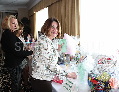 Point Beach UNICO fundraiser 04/01/2017 from L to R: Linda Agresta from North Bergen