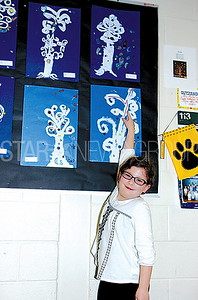 Boro Nellie Bennett Elementary Art Show 04/27/2017: Jenna Gleason age 7 from Point Pleasant