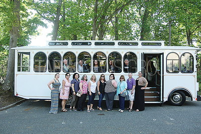 BRICK Chamber Commerce BBQ// Chamber board members and Shore Luxury Limo Staff