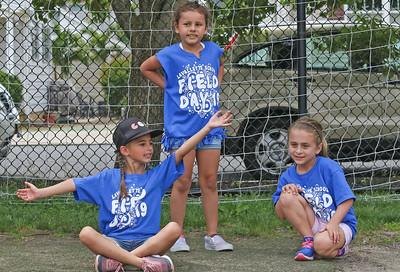 [L-R]: Ava Selert, Noemi Monteiro, Lauren Gonzalez The 2019 Field Day at Lavallette Elementary in Lavallette, NJ on 6/6/19. [DANIELLA HEMINGHAUS   THE OCEAN STAR]