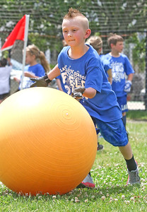 Cole Regner. The 2019 Field Day at Lavallette Elementary in Lavallette, NJ on 6/6/19. [DANIELLA HEMINGHAUS   THE OCEAN STAR]