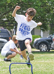 Colin Rocco The 2019 Field Day at Lavallette Elementary in Lavallette, NJ on 6/6/19. [DANIELLA HEMINGHAUS | THE OCEAN STAR]