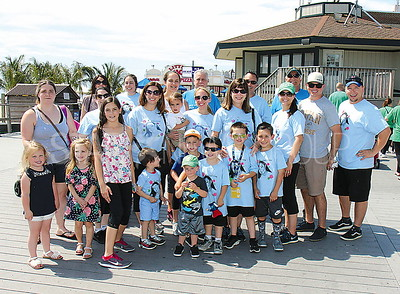 "Point Pleasant Beach Cystic Fibrosis Walk 06/10/2017: ""Gigi's Gang"" from Scotch Plains"