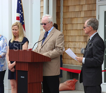 BH boro hall grand opening celebration 6/17/2017 from L to R: D'Arcy Rohan Green Council President, Councilman Brian Magory,  Mayor William W. Curtis