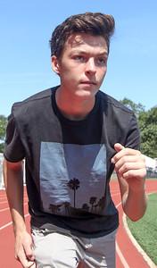 Athlete of the Season Devin Hart, in Point Pleasant Boro, NJ on 6/28/19.  [DANIELLA HEMINGHAUS | THE OCEAN STAR]