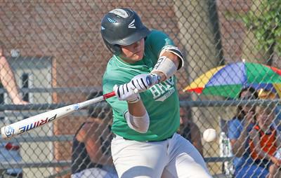 no.54, John Wade. Point Pleasant Boro v/s Brick Township baseball in Point Pleasant Boro, NJ on 7/12/19. [DANIELLA HEMINGHAUS]