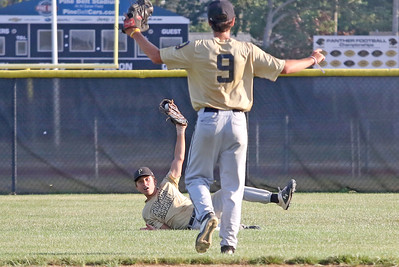 no.28, Connor Kennedy and no.9 Point Pleasant Boro v/s Brick Township baseball in Point Pleasant Boro, NJ on 7/12/19. [DANIELLA HEMINGHAUS]