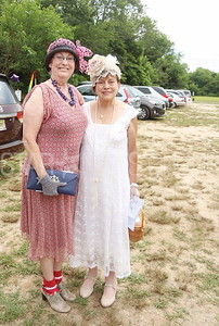 Brick garden tour// Janet Washer of Barneget and Judy Bober of Cranford