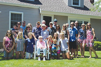 100th Birthday Brick: Alice Nora Howes and her whole extended family