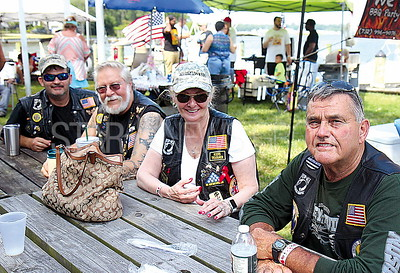 Brick Rib Cook Off from L to R: Wayne Walker, Lake Lacock, Willa Lacock, Walt Martin all of Tuckerton