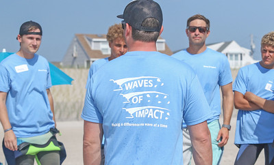Waves of Impact day 1 in Lavallette, NJ on 8/1/19. [DANIELLA HEMINGHAUS]