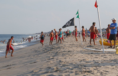 The 2019 Jenkinson's Lifeguard Tournament in Point Pleasant Beach, NJ on 8/9/19. [DANIELLA HEMINGHAUS]