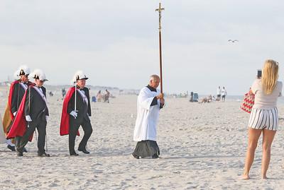 The Blessing of the Sea in Lavallette, NJ on 8/15/19. [DANIELLA HEMINGHAUS]