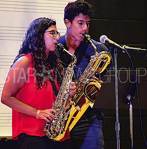 giovanna and johny limaldi performing