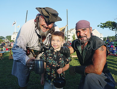 boro pirate show// Lachlan Heald 3 of Brielle with some pirates
