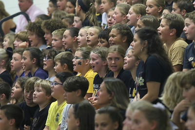"Nellie Bennett Elementary School's ""Star Student Pep-Rally in Point Pleasant Boro, NJ on 9/21/18. [DANIELLA HEMINGHAUS 