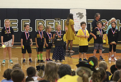 "Star-students Nellie Bennett Elementary School's ""Star Student Pep-Rally in Point Pleasant Boro, NJ on 9/21/18. [DANIELLA HEMINGHAUS 