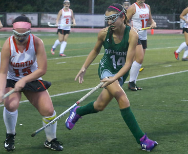 no14, Alyssa Carlucci Brick Township field hockey v/s Middletown North in Middletown, NJ on 10/11/18. [DANIELLA HEMINGHAUS | THE OCEAN STAR]