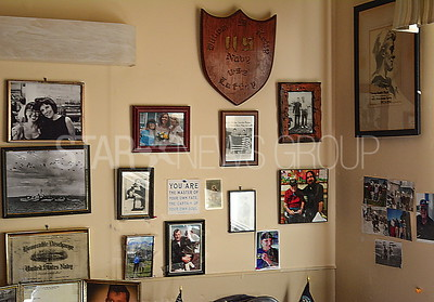 his wall of fame