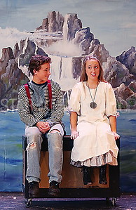 BORO Play Practice// Ryan Jasaitis ( Boy/ Peter) Emily Strasshein (Molly)
