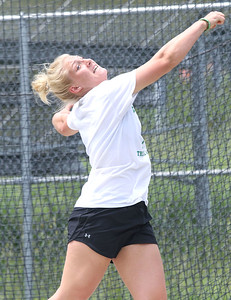 Brick Township girls discus. Ocean Star teams competing in the NJSIAA Group 2 Meet in at Central Regional High School in Bayville on 6/2/18. [DANIELLA HEMINGHAUS | THE OCEAN STAR]