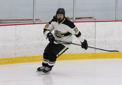no.20, Ryan McCabe. Point Pleasant Boro v/s Southern Regional high school hockey in Brick, NJ on11/30/18. [DANIELLA HEMINGHAUS | THE OCEAN STAR]