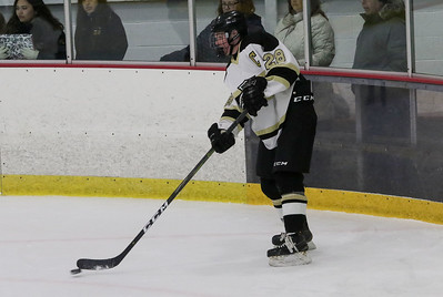 no.28, Will Herrington. Point Pleasant Boro v/s Southern Regional high school hockey in Brick, NJ on11/30/18. [DANIELLA HEMINGHAUS | THE OCEAN STAR]