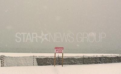 pt. beach snow storm