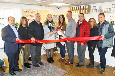 Ribbon cutting at  B& B Studios in Point Pleasant Beach on Tuesday December 12,2018. (MARK R. SULLIVAN /THE OCEAN STAR)