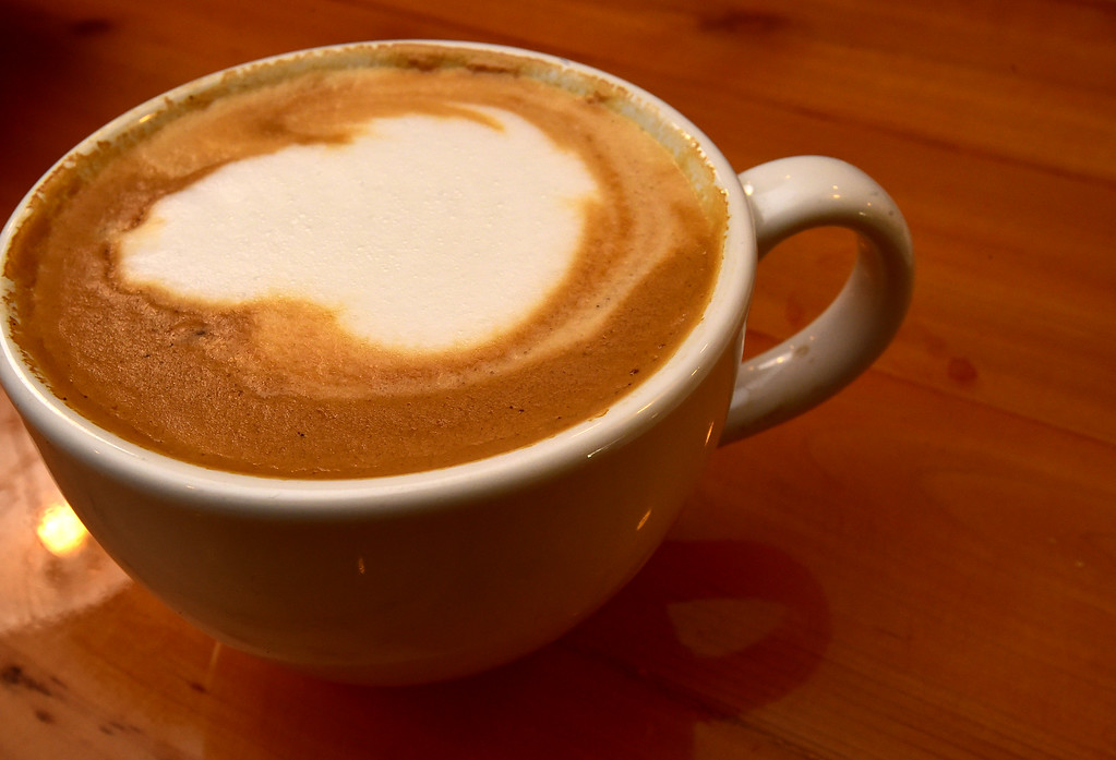 . Cappuccino at the Old Oak Coffeehouse in Niwot. Paul Aiken Staff Photographer Nov 8, 2017