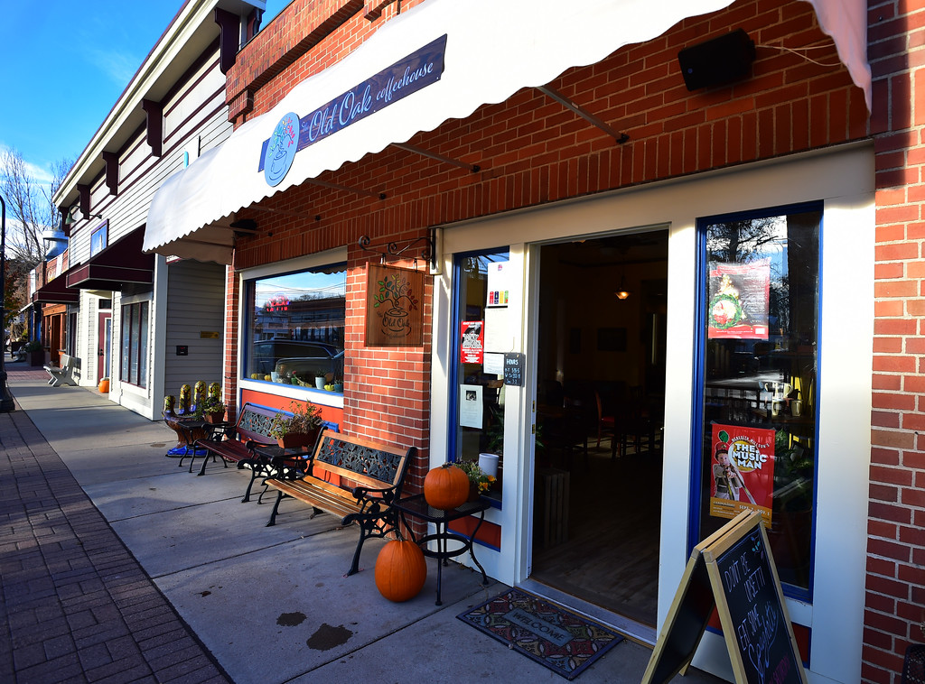 . Exteriors of the Old Oak Coffeehouse in Niwot Paul Aiken Staff Photographer Nov 8, 2017
