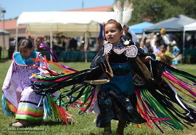 A downtown art tour Saturday, May 27, 2017, in Chico, California. (Dan Reidel -- Enterprise-Record)  Saturday, May 27, 2017, during the Oroville Pow Wow at Gold Country Casino in Oroville, California. (Dan Reidel -- Enterprise-Record)