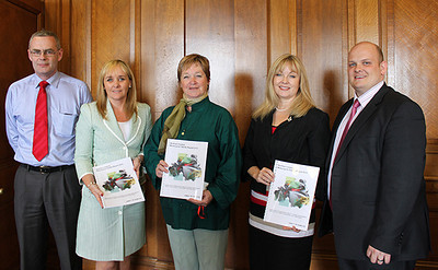 Presenting Motorcycle Fatality report at Stormont