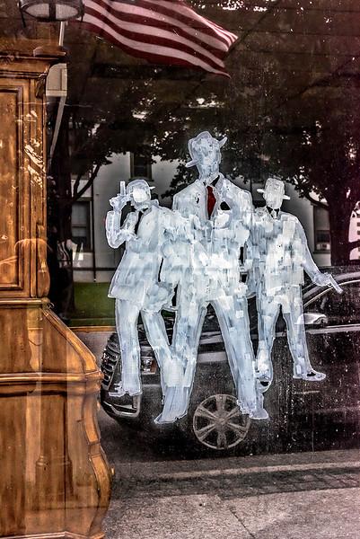 Eliot Ness Festival Window Display