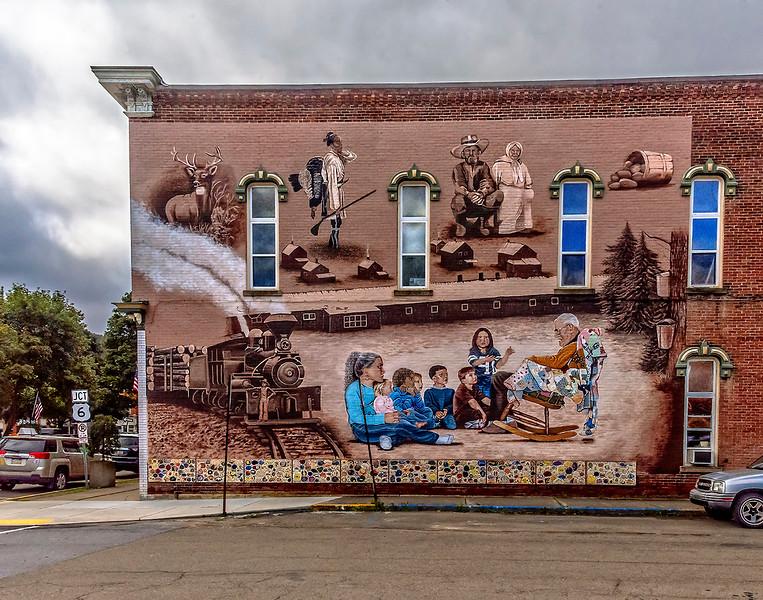 Mural, Coudersport, PA