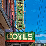 Coyle Theater Signage