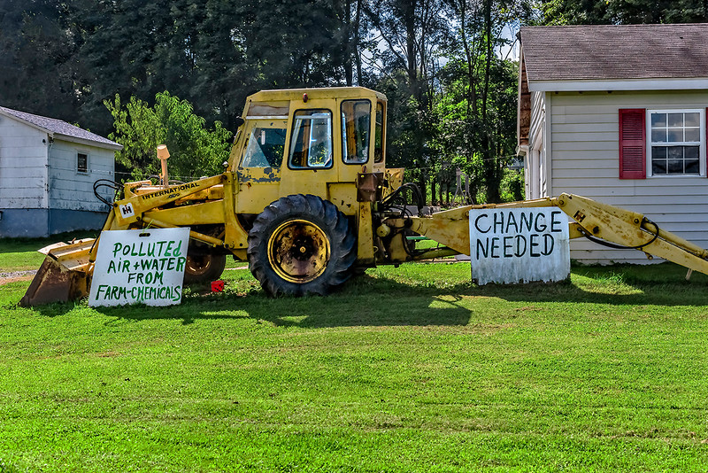 Change Needed, Pollition from Farm Chemicals