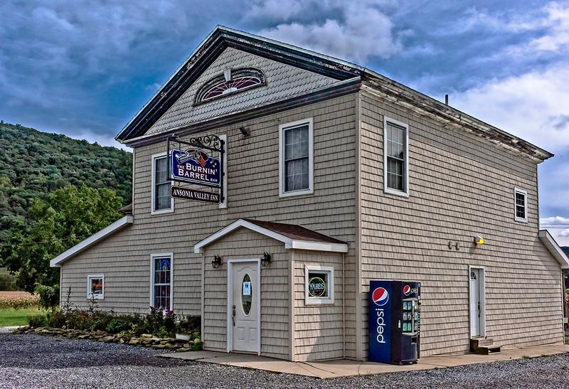 The Burnin Barrel Bar, Ansonia Valley Inn