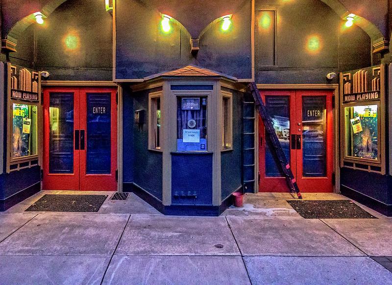 Victoria Theatre Box Office & Entrance