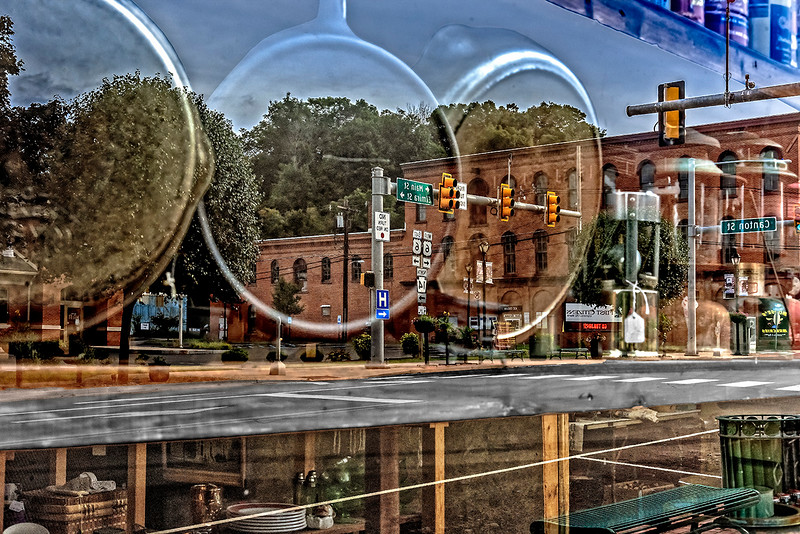 Troy Street Reflections