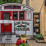 Red Rose Diner, Route U.S. 6 Entrance