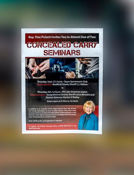 Concealed Carry Seminars, Towanda
