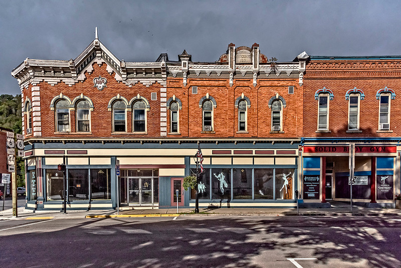 Coudersport Architecture, Facade