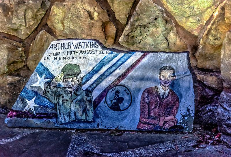 Arthur Watkins, Blossburg, PA War Memorial