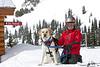 Sturtevants kids and avalanche dog 2010
