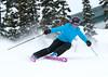 Tracy Skiing Circa April 2011